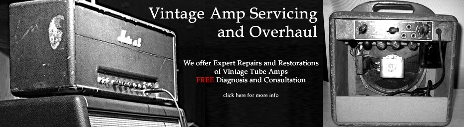 Overhaul Your Amp - Click Here